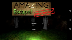 Announcing my new game: Amazing Escape (Shareware)!